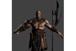 Barbarian 'High Poly' (1)