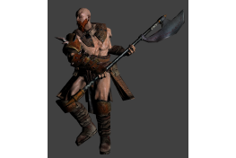 Barbarian 'Low Poly' (3)