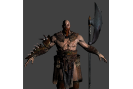 Barbarian 'Low Poly' (1)