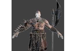 Barbarian 'High Poly' (2)