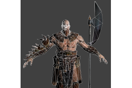Barbarian 'Low Poly' (2)