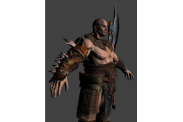 Barbarian 'High Poly' (3)
