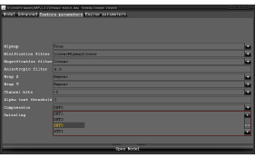 Importer Textures Options UI